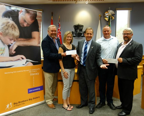 Niagara Big Brothers and Sisters Reviev Donation